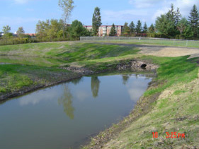 Pond maintenance and sediment removal